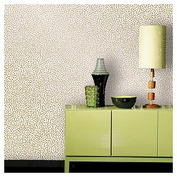 Devine Color Speckled Dot Peel Stick Wallpaper