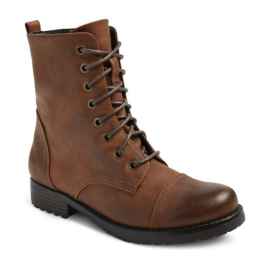 Women's Brit Combat Boots Mossimo Supply Co.™ : Target