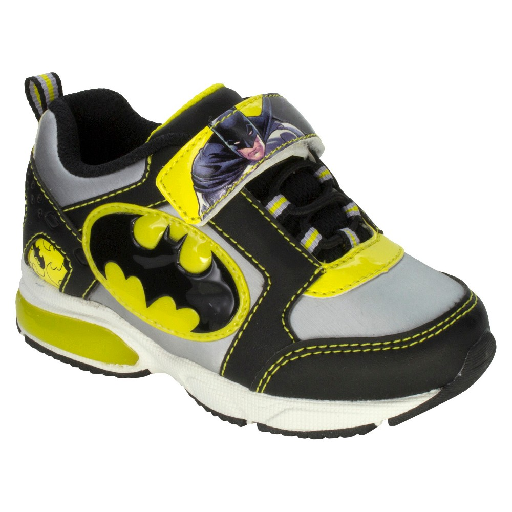 Batman Toddler Boys Athletic Sneakers - Black 13