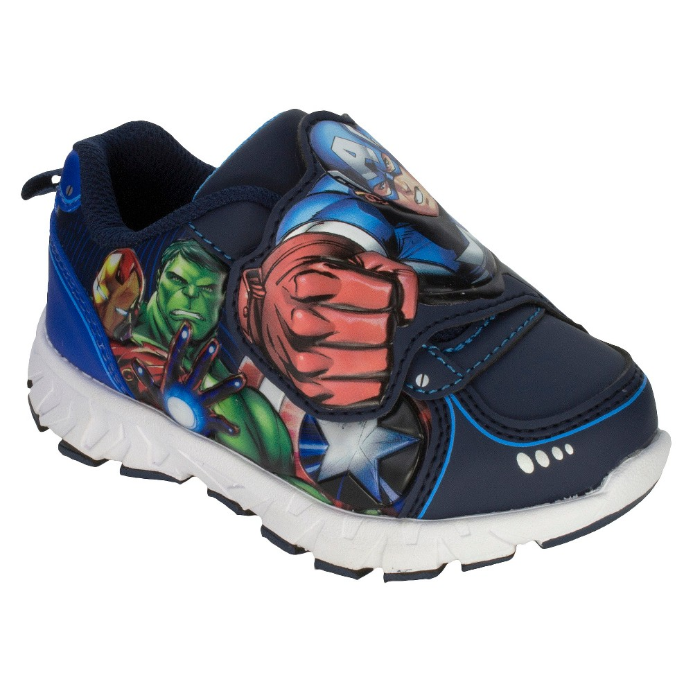 Avengers Toddler Boys Athletic Sneakers - Blue 1