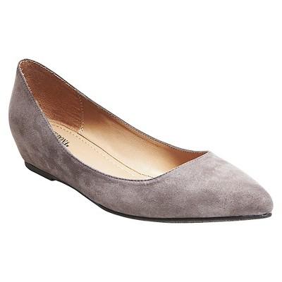 4a03dd5daae7 Womens Drew Pointed Toe Ballet Flats – Merona™ Gray 8 – Target ...