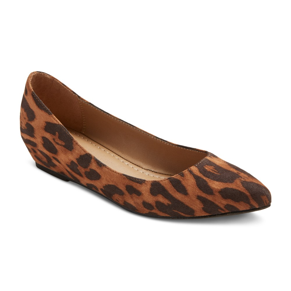 Womens Drew Pointed Toe Ballet Flats - Merona 8, Multi-Colored