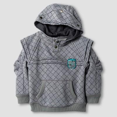Baby Boys' Sweatshirt - Radiant Gray 12 M - Genuine Kids™ from Oshkosh®