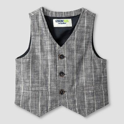 Baby Boys' Fashion Vest - Charcoal 18M - Genuine Kids™ from Oshkosh®