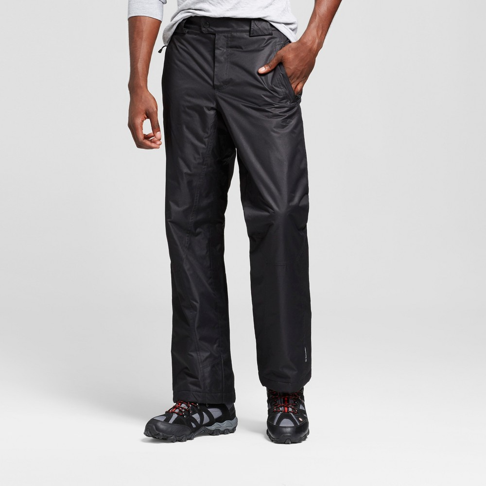 Mens Snow Pants - C9 Champion Black 2XL, Size: Xxl