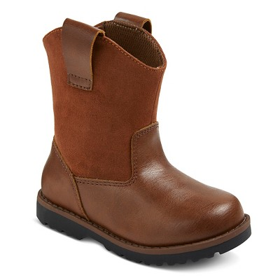 Toddler Boys' Chris Cowboy Boots Cat & Jack™ - Brown 6