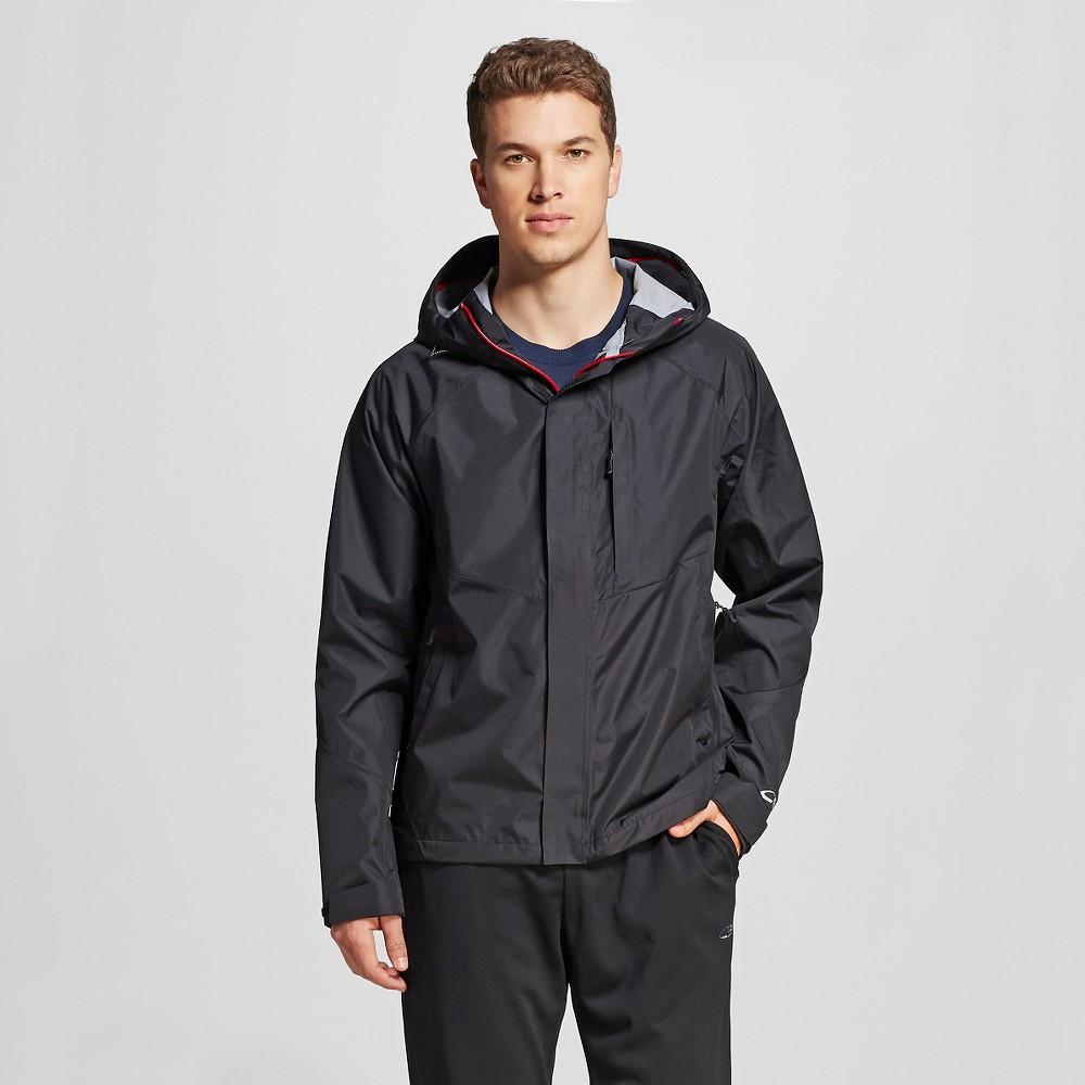 Mens Breathable Waterproof Jacket - C9 Champion Black 2XL, Size: Xxl