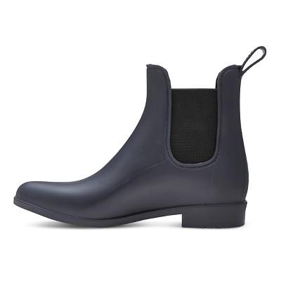 Women's Alex Chelsea Rain Boots Merona - Navy (Blue) 10