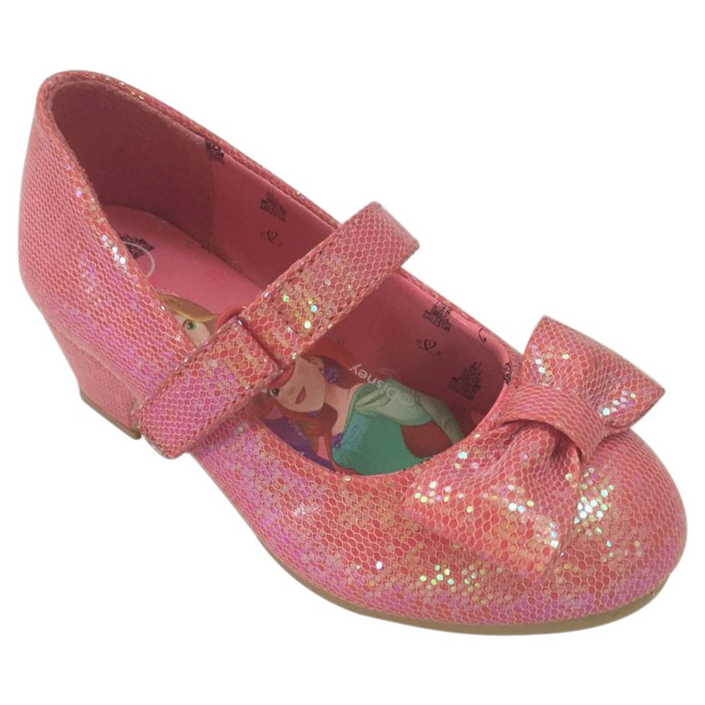 Toddler Girls Princess Dress Ballet Flats - Pink 8