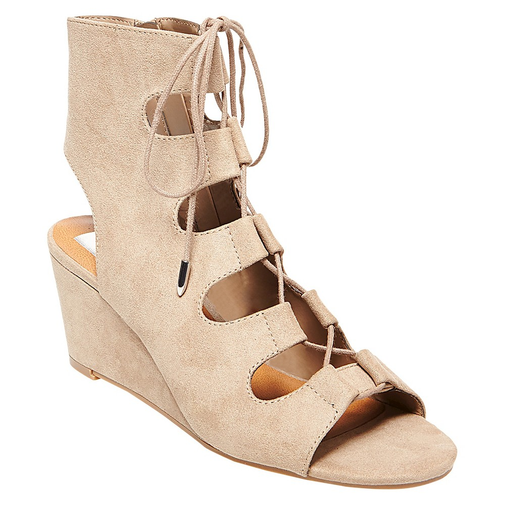 Womens dv Gabi Gladiator Sandals - Taupe (Brown) 11