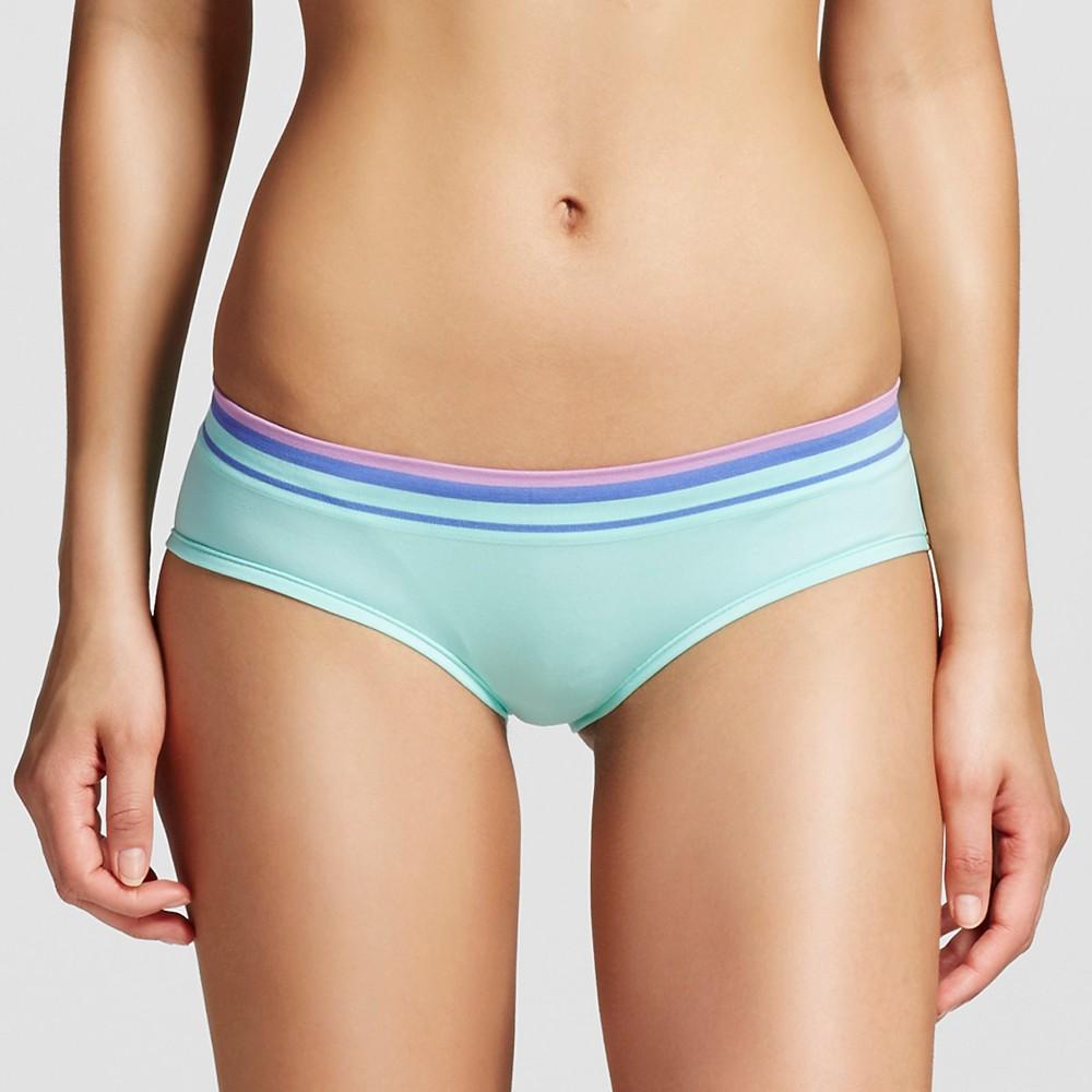 Womens Seamless Hipster Briefs - Xhilaration Mint Green XS
