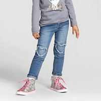 Toddler Girls' Skinny Jeans Medium Wash - Cat & Jack. opens in a new tab.