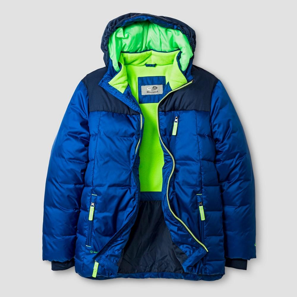 Boys' Puffer Jacket C9 Champion - Blue M, Boy's