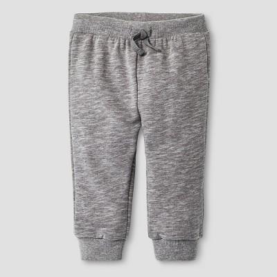 Baby Boys' Slub Jogger Pants Baby Cat & Jack™ - Radiant Grey NB