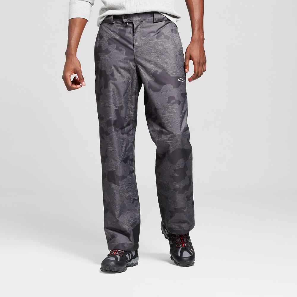Men's Big & Tall Snow Pants - C9 Champion Black Fleck 3XL, Size: Xxxl
