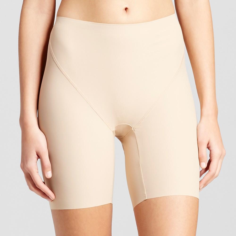 Jky by Jockey Womens Slimming Shorts Nude L, Beige