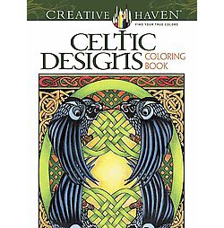 Celtic Designs Adult Coloring Book