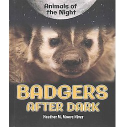 Badgers After Dark (Library) (Heather M. Moore Niver)