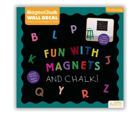 Fun With Abcs! Magnachalk Wall Decal (Book) - image 1 of 1