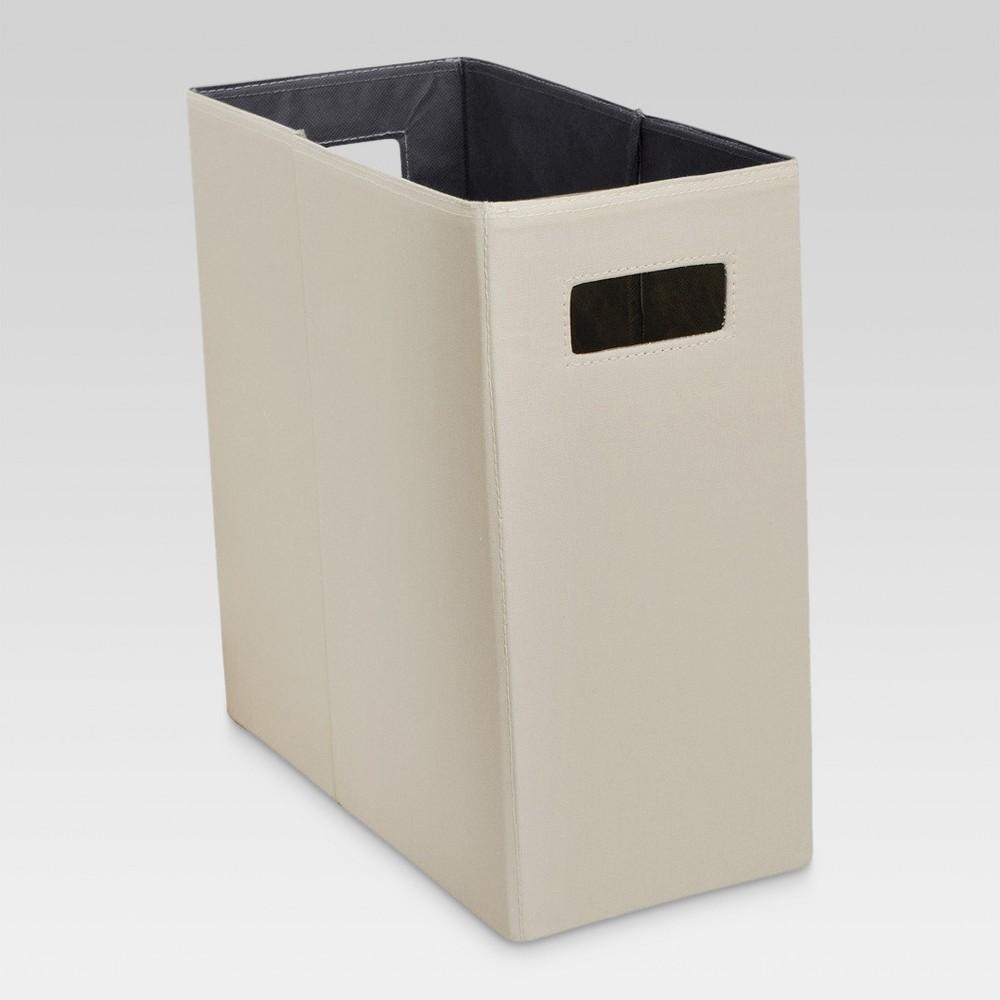 Half Vertical Storage Bin - Threshold, Brown