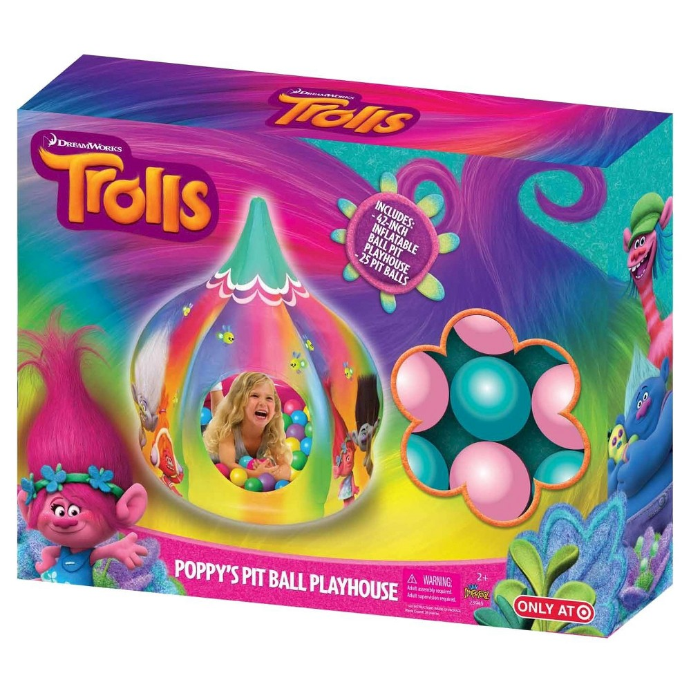 Imperial Toys Kids Play Troll Ball Pit House Style, Multi-Colored