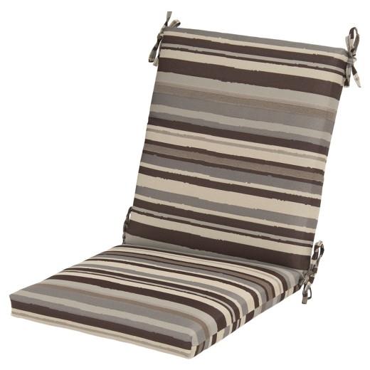 Outdoor Chair Cushion Tan Stripe Threshold Target