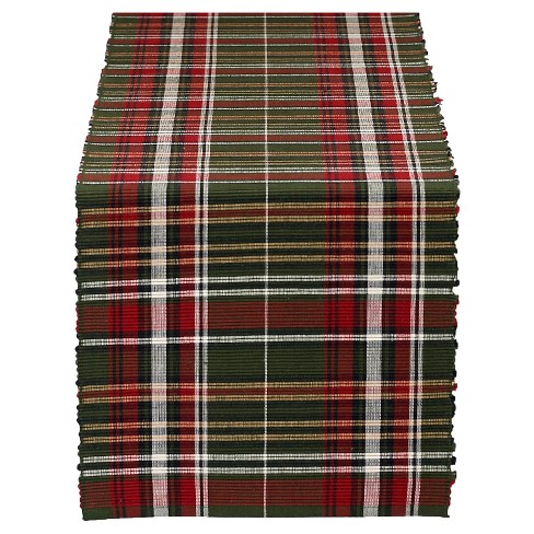 Table Runner Forest Ridge Plaid - Design Imports - image 1 of 1