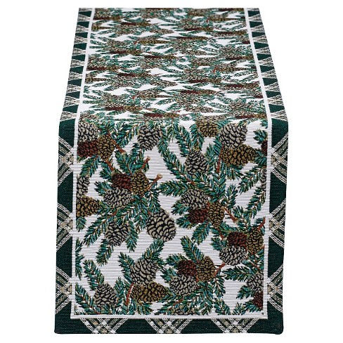 Table Runner Pinecone - Design Imports - image 1 of 1