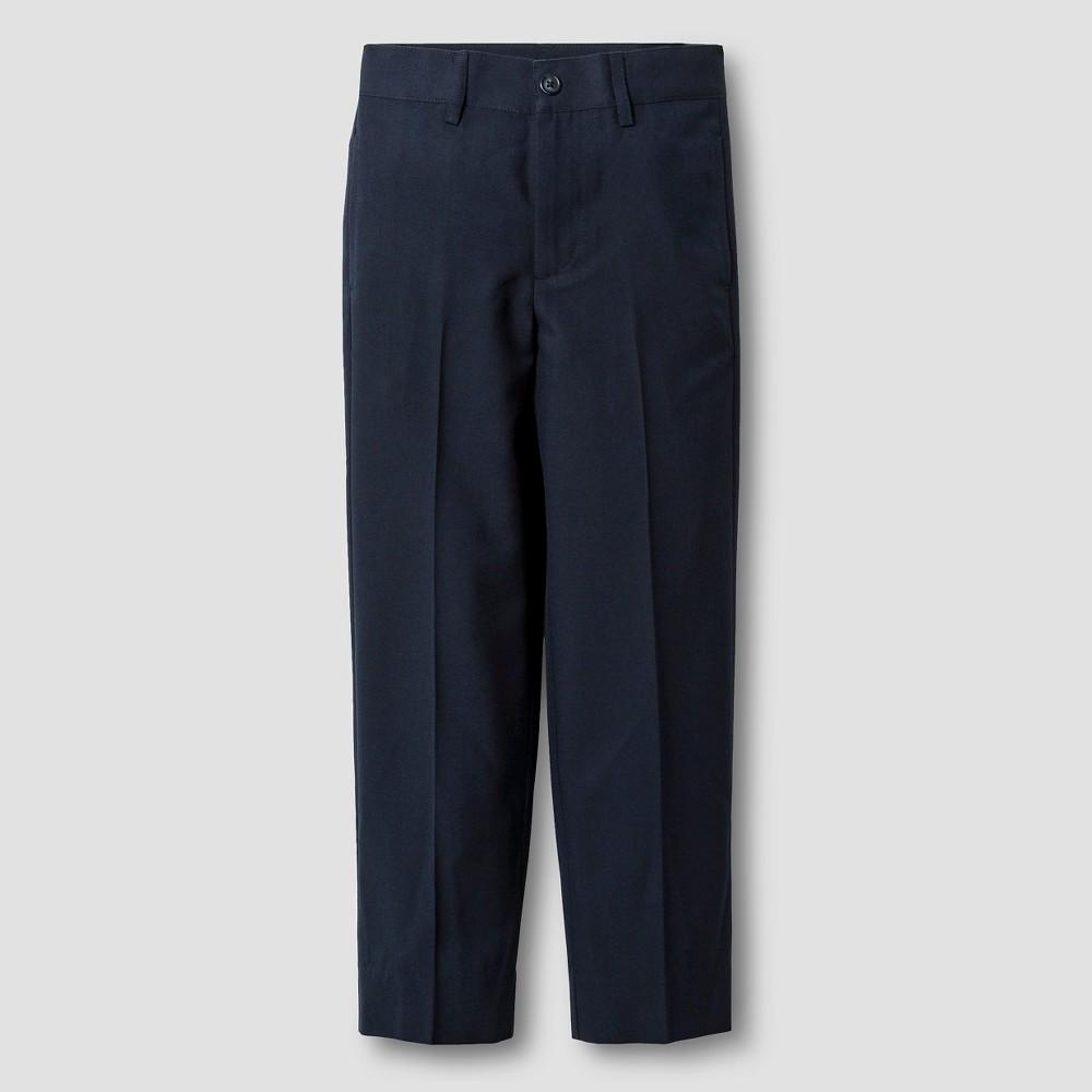 Boys Suit Pants - Cat & Jack Navy 8 Husky, Blue