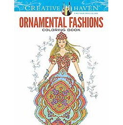 Ornamental Fashions Adult Coloring Book (Paperback)