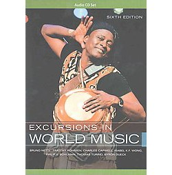 Excursions in World Music (Revised) (CD/Spoken Word) (Bruno Nettl)
