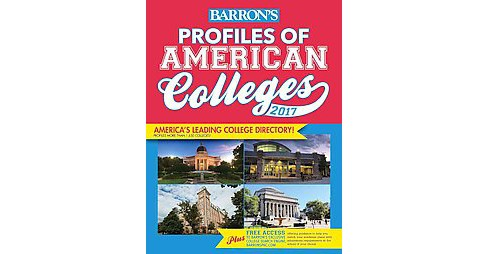 Profiles of American Colleges 2017 (Revised) (Paperback) - image 1 of 1