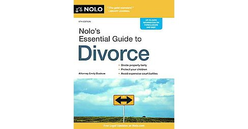Nolo's Essential Guide to Divorce (Paperback) (Emily Doskow) - image 1 of 1