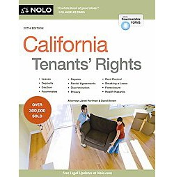 California Tenants' Rights (Paperback) (Janet Portman)