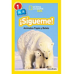Sigueme! / Follow Me! : Animales papas y bebes (Library) (Shira Evans)