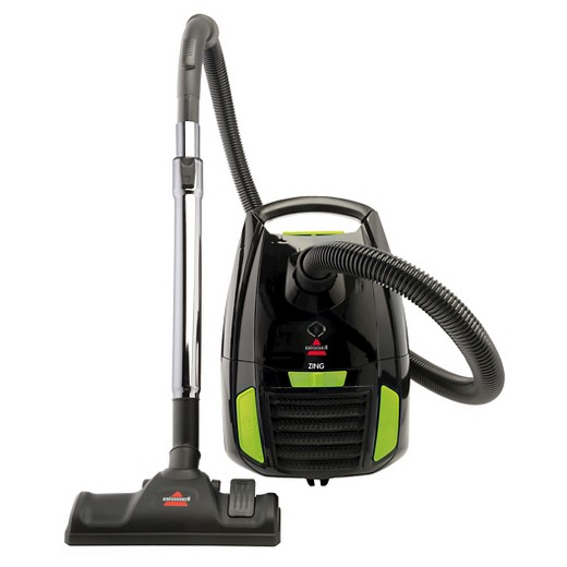 bissell 174 zing 174 bagged canister vacuum black 1668 target