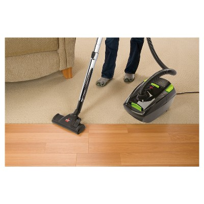 bissell zing bagged canister vacuum black - Canister Vacuums