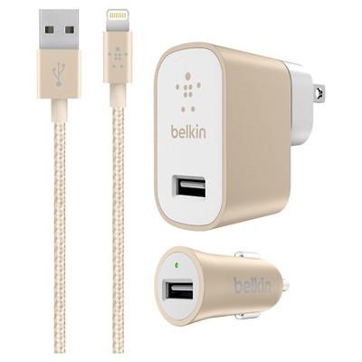 Belkin Premium 2.4A Car, Home & LTG Cable