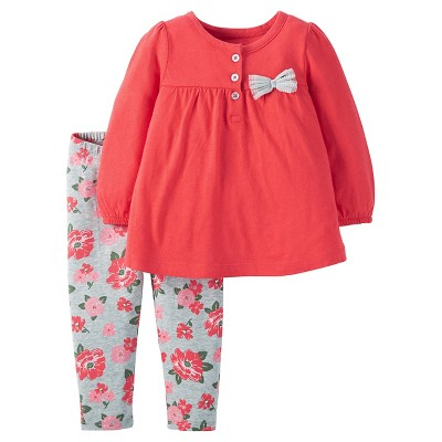 Just One You™ Made by Carter's® Toddler Top And Bottom Set - Cherryland 6M