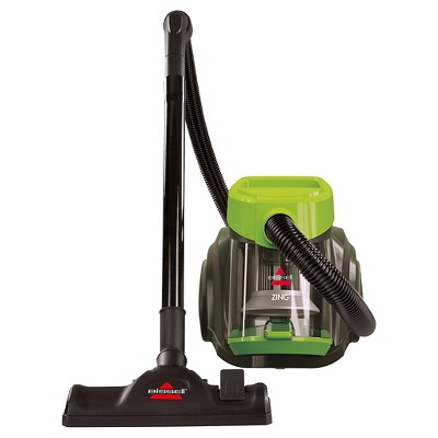 bissell zing bagless canister vacuum chacha lime