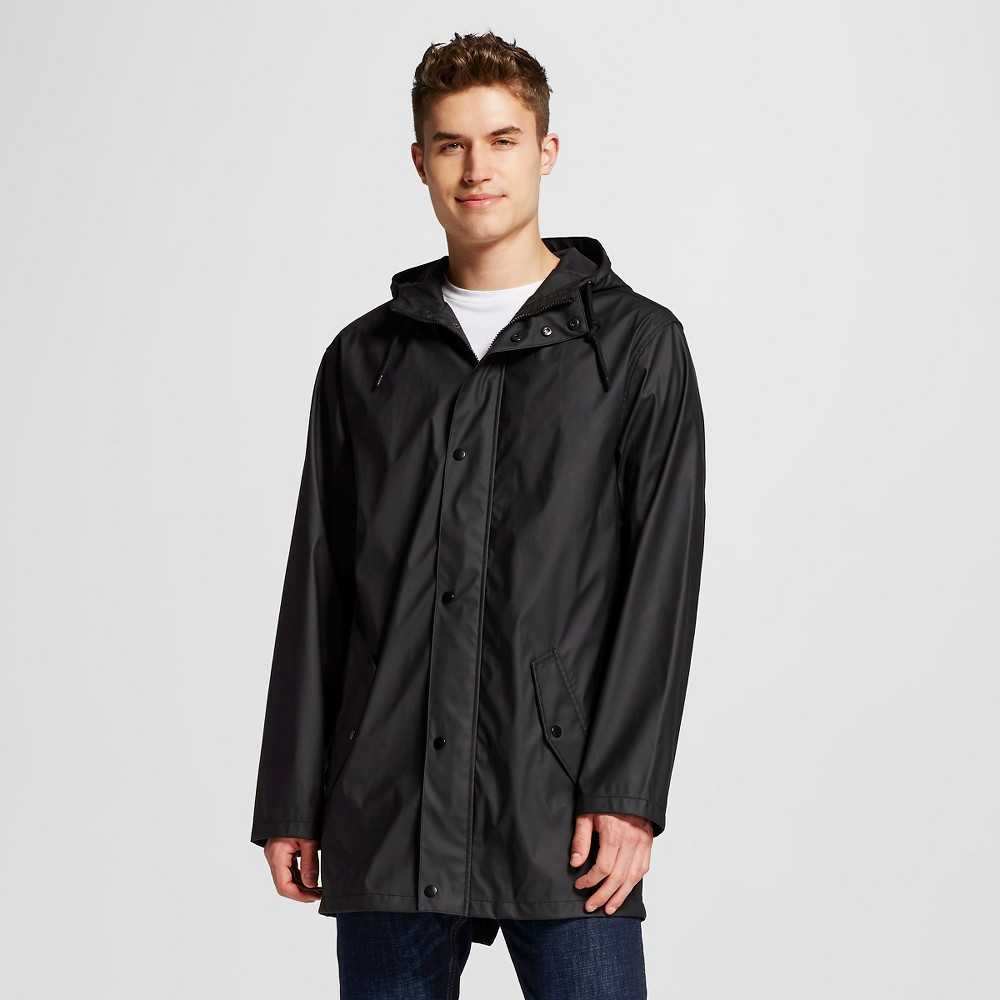 Mens Water Resistant Jacket Black Xxxl - Mossimo Supply Co.