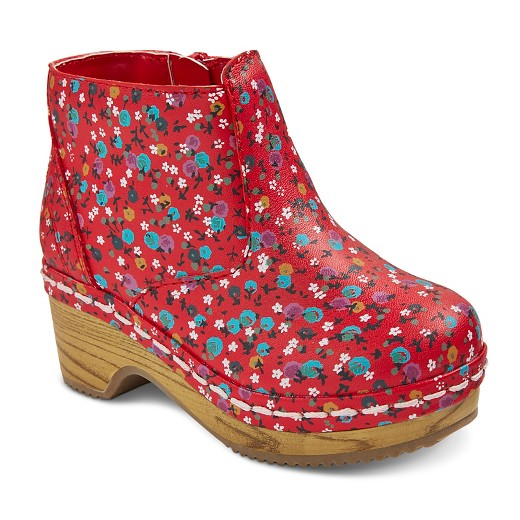 Toddler Girls' Genuine Kids Penina Floral Wooden Fashion Boots ...