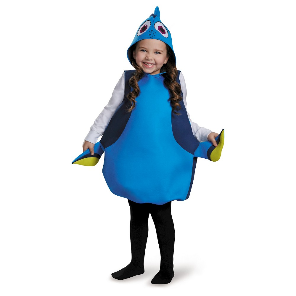 Toddler Disney Finding Dory Costume, Toddler Girls