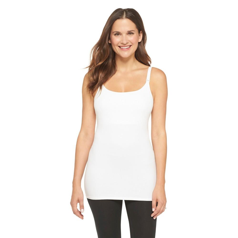 Womens Nursing Cotton Cami, Size: Xxxl, White
