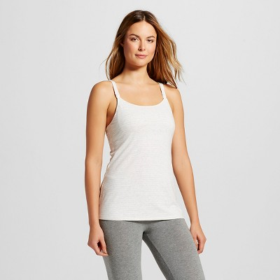 Women's Nursing Cotton Cami Gray Stripe 3XL - Gilligan & O'Malley™