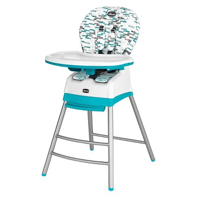 Chicco Stack 3 in 1 High Chair Aqua