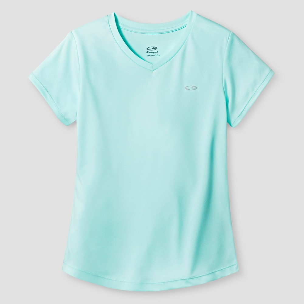 Girls Tech T-Shirt - C9 Champion Mint (Green) L