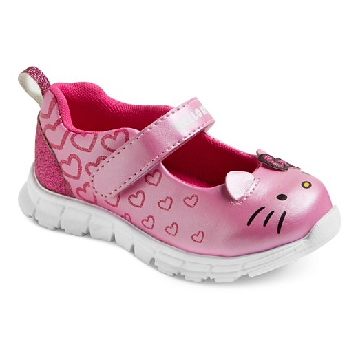 toddler hello athletic shoes pink