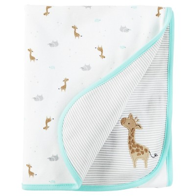 Baby Giraffe Interlock Blanket - Just One You™ Made by Carter's®Mint