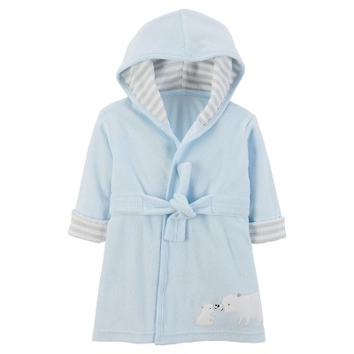 Baby Boys' Bear Robe - Just One You™ Made by Carter's® Blue